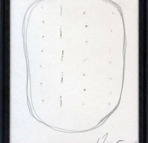 Lucio Fontana, sem titulo 1, 1968