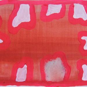 Mariana Gomes, st 4, 2015, 12,5x18cm, guache sobre papel
