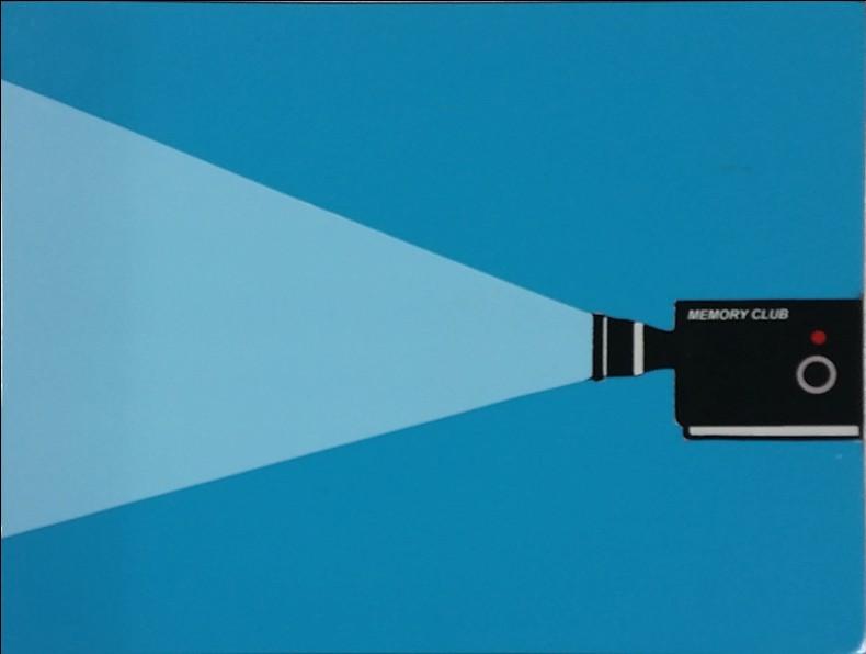 Joao Noutel -Memory club, 2012, mista s MDF 20x26cm