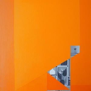Susana ribeiro, Building Blocks 10, 2014, 40x30cm, acrilico s tela