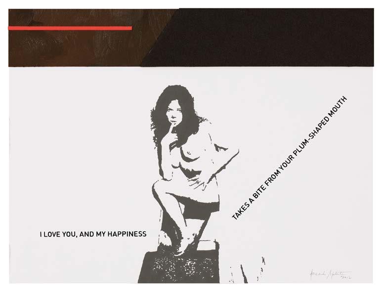 Alexandre Baptista - love letters 1, 2012, 24x32cm