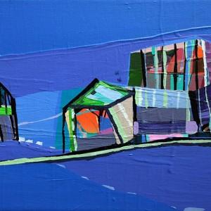 Ana Pais Oliveira, inabitado 7, 2009, 20x30cm, acrilico s tela