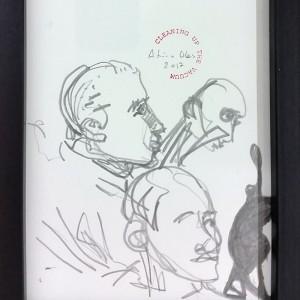 António Olaio_sem titulo 2, 2017, grafite s papel, 19x14cm