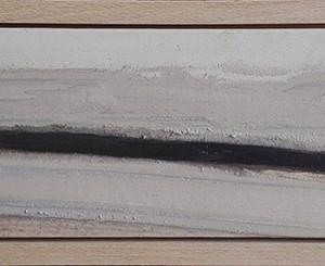 Daniel David – Aspecto 20-XII-C, acrílico sobre tela montada em MDF, 13,5x51, 5cm