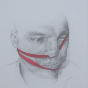 Jorge Abade - Moodboard 11, 2015, 14x10cm, grafite e ecoline em papel