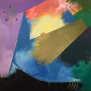 Marcio Costa 14-44 - sem título 4, 2017, mista s tela, 30x30cm