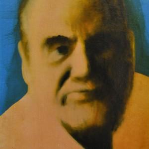 Rui Macedo - Herberto helder, 36x26cm, oleo e goma laca s tela