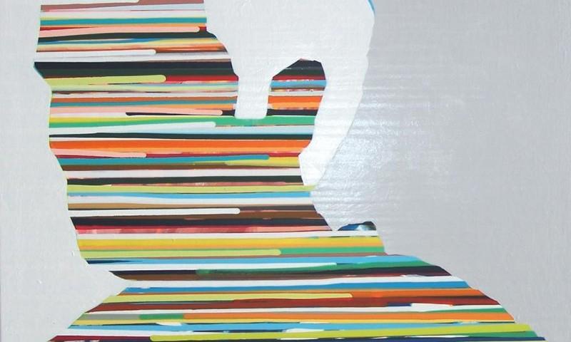 Nuno Gaivoto O ESPANHOL 2005 -50x60cm acrilico sobre tela