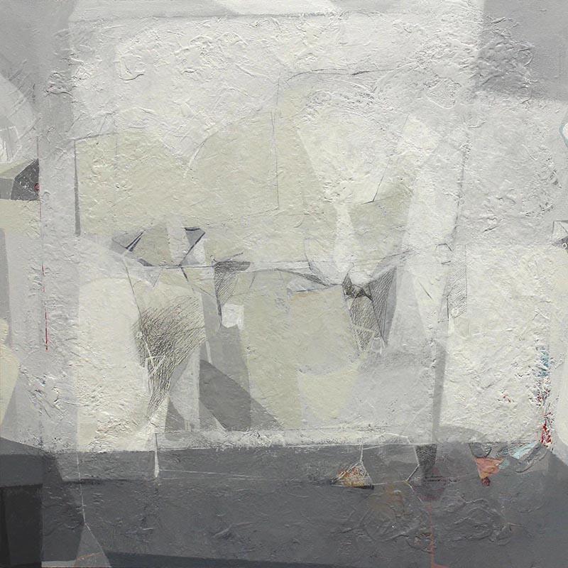 Rui Tavares - White II, 2013, acrilico e grafite s mdf