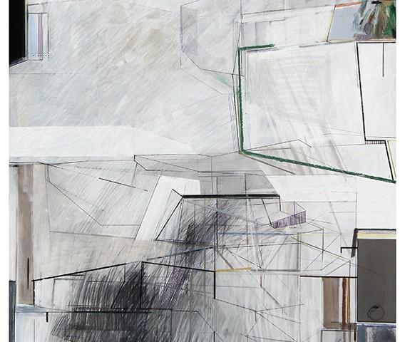 Susana Chasse - Norma II. Mista s. papel. 70 x 50 cm
