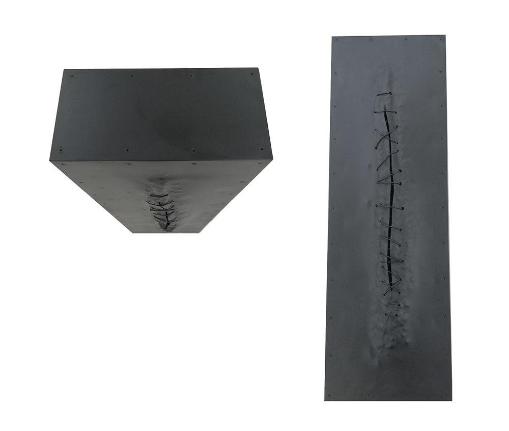 Rui Chafes-onde a luz morre I, 1996, ferro, 96x32x16cm