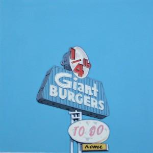 Gabriel Colaço - Signs 47 - 2010- Acrylic on paper-50x50 cm