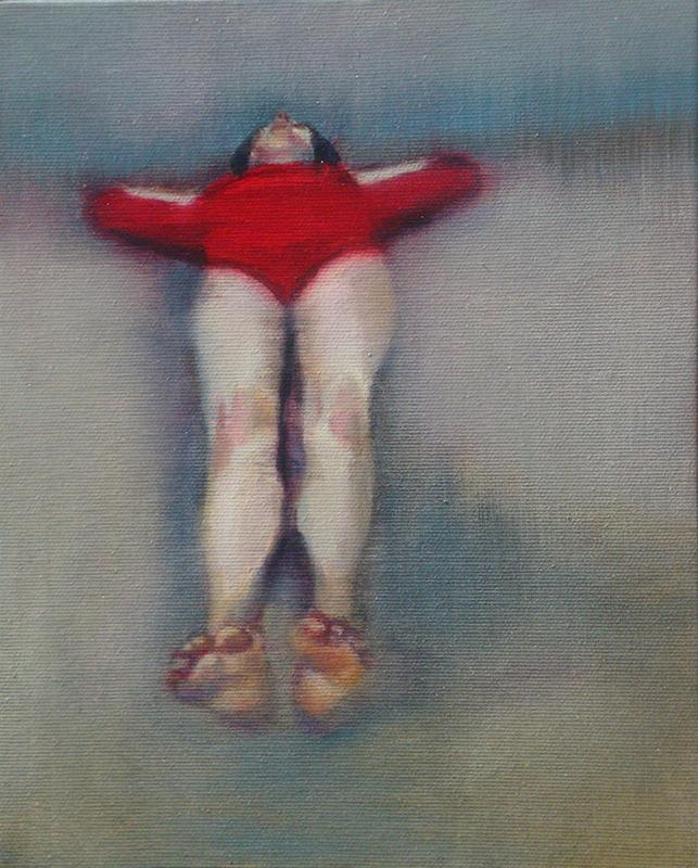 António Trindade - The Nap #II, 26x21cm, 2018, oleo s tela