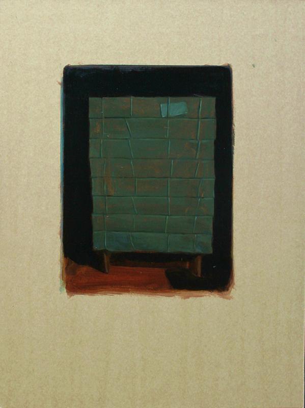 Pedro Pascoinho - contain 61,5x41,5cm oleo s papel