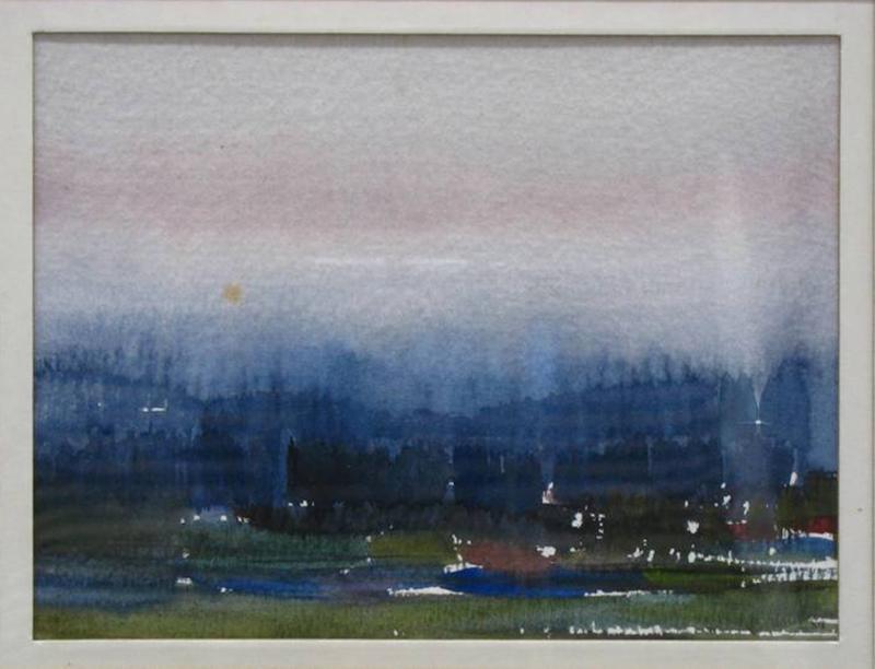 Jaime Isidoro - st, 1989, aguarela s papel, 12x16cm