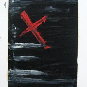 carlos lopes, X encanado, 2005 70,5x48,5cm