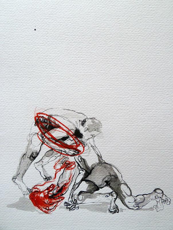 Susana Pires_sparringI, 2013, 35x25