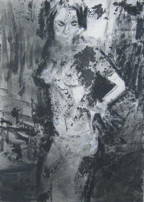 João Jacinto - st, 2013, 70x50cm mista sobre papel