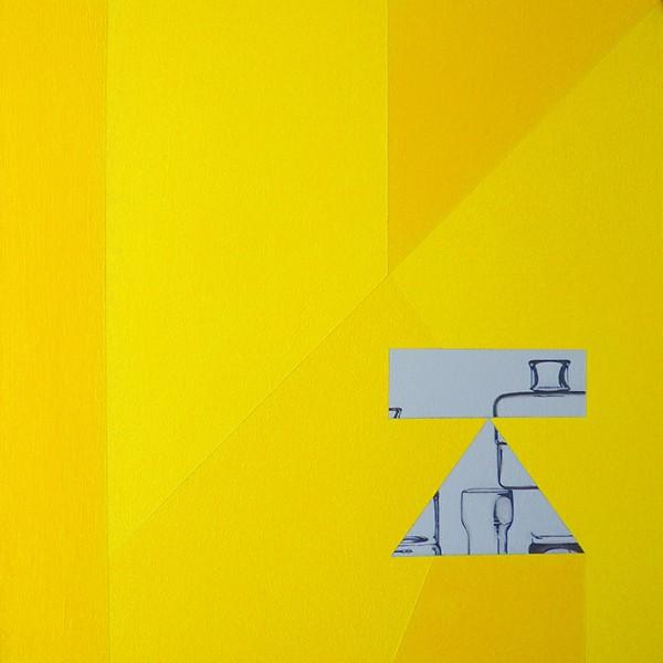 Susana ribeiro, Building Blocks 11, 2014, 3ox30cm, acrilico s tela