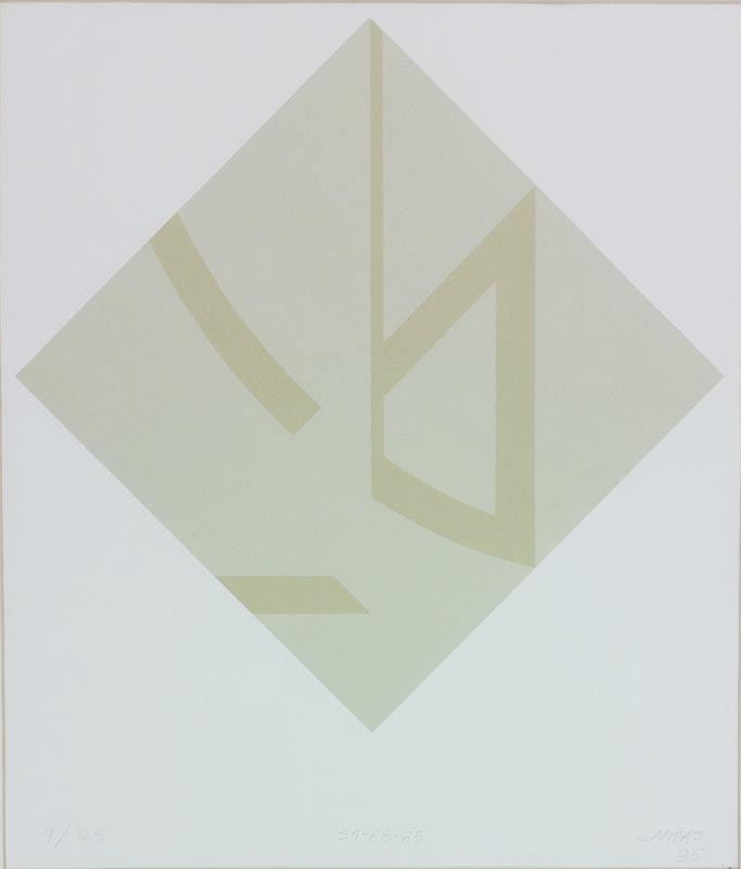Lanhas - S1-68-95, 1985, 9-125, 57x49cm