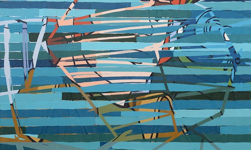 Catarina lira pereira- Au cirque--65x65-2006-acrilico s tela BD