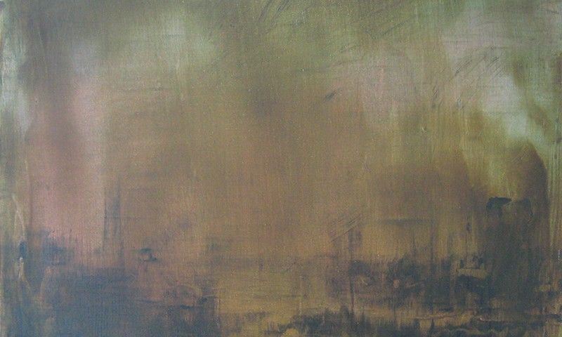 Pedro Andrade - Harbouring, third regret, 2015, 40x45cm, acrilic sobre tela