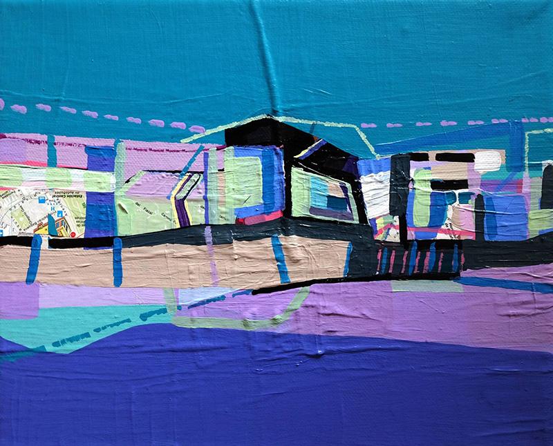 Ana Pais Oliveira, inabitado 11, 2009, 22x27cm, mista s tela