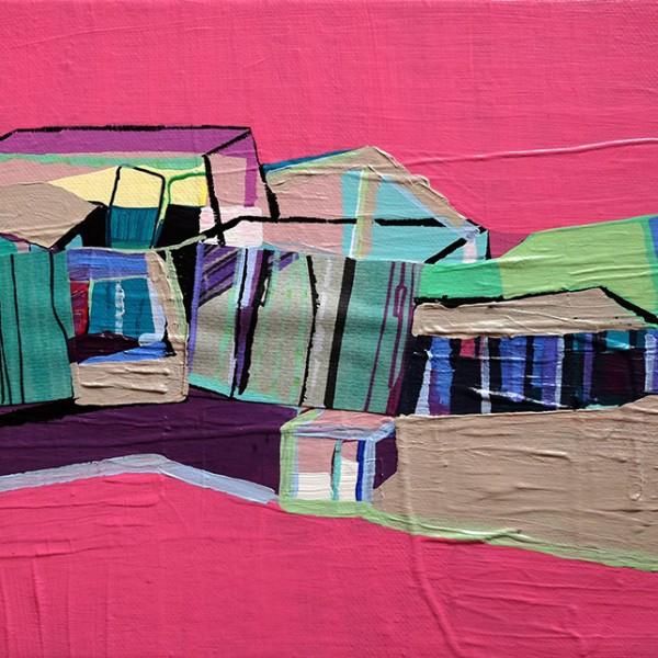 Ana Pais Oliveira, inabitado 5, 2009, 22x27cm, acrilico s tela
