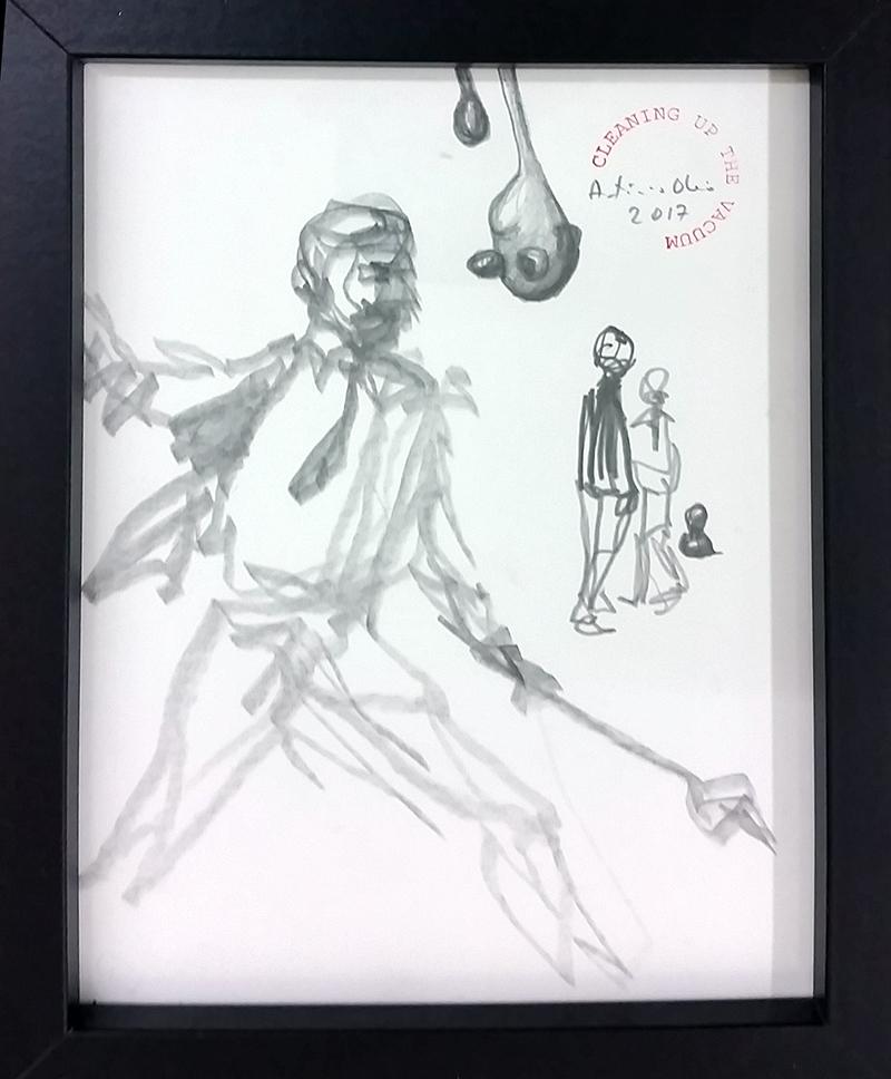 António Olaio_sem titulo 3, 2017, grafite s papel, 19x14cm