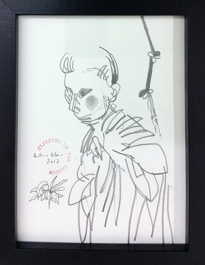 António Olaio_sem titulo 4, 2017, grafite s papel, 19x14cm