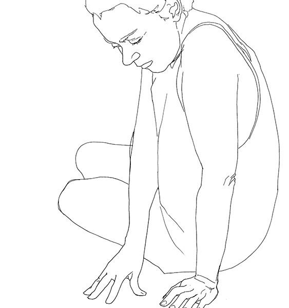Cristina Troufa_No Title drawing #A_42 x 29,7_caneta tinta da china preta spapel_2017