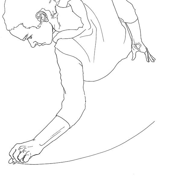 Cristina Troufa_No Title drawing #I_42 x 29,7_caneta tinta da china preta spapel_2017