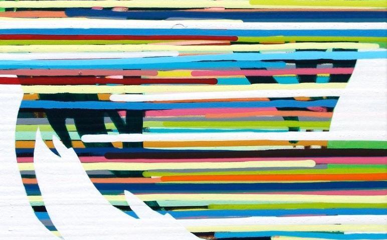 Nuno Gaivoto JODIE, 2005 40x40cm, acrilico sobre tela