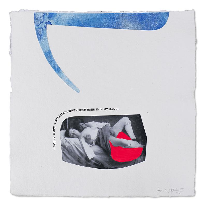 Alexandre Baptista_ Censored#9, acrilico e fotografia sobre papel, 2015, 30x30cm