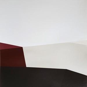 André Lemos Pinto, Abstract Composition series, 1, 2018, acrilico s papel, 35x50cm