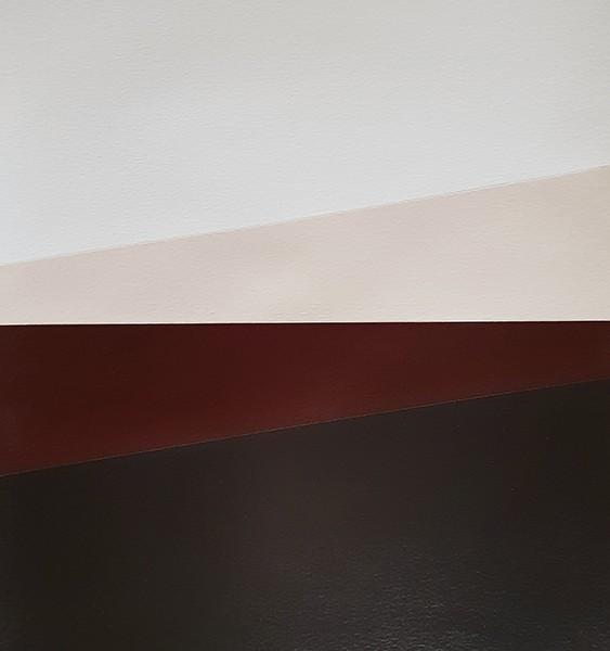 André Lemos Pinto, Abstract Composition series, 2, 2018, acrilico s papel, 35x50cm