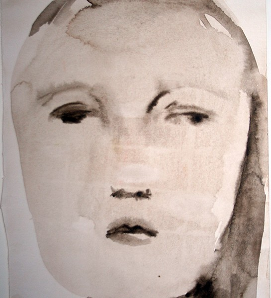 Angelina Silva, st 2, aguada sobre papel, 20x40cm-20x25cm