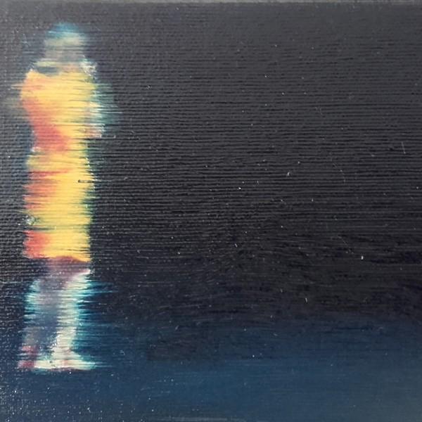 António Trindade - Sem título, #11, óleo sobre tela, 12,5x15cm, 2015