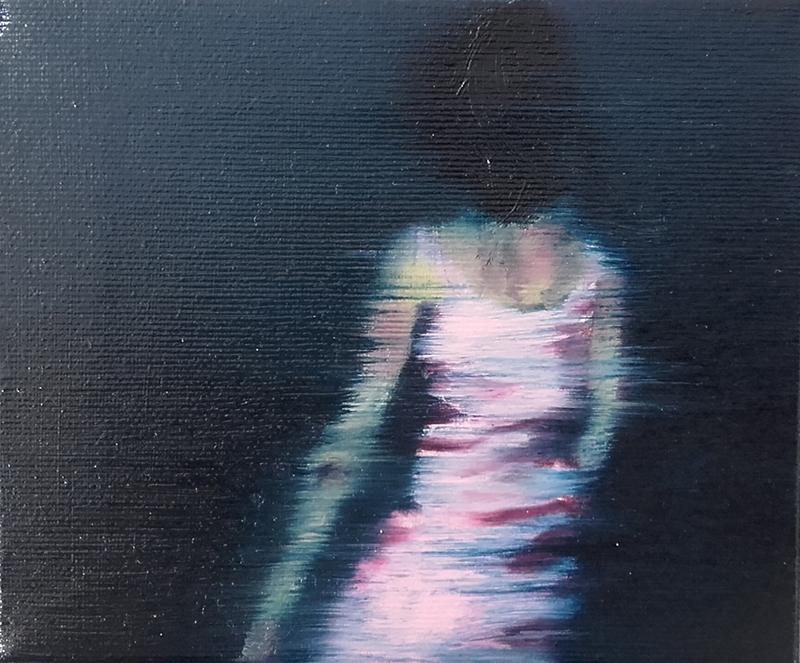 António Trindade - Sem título, #12, óleo sobre tela, 12,5x15cm, 2015