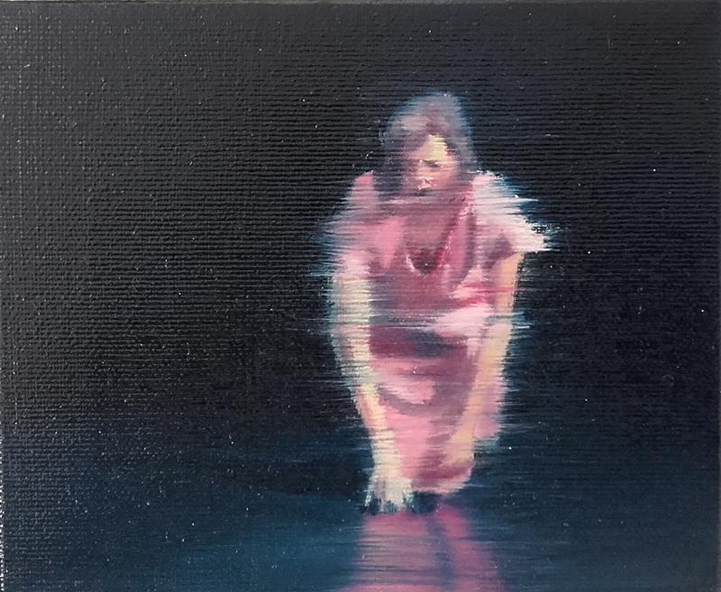 António Trindade - Sem título, #7, óleo sobre tela, 12,5x15cm, 2015