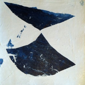 Helena Dias - st 6, tinta acrilica colada em tela, 17,5x18cm, 2018