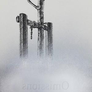 Jorge-Abade-Omissions-2018-tinta-china-spray-prateado-e-decalque-297x21cm