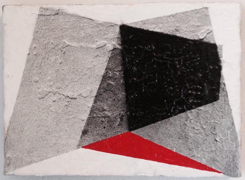 Migueangelo veiga - st, acrilico e tina china s tela, 2010-18, 16x22cm