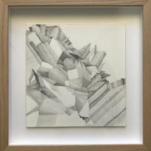 Paula Prates_Não são só rochas#6, 2011, grafite s_ papel, 20x20 cm bd