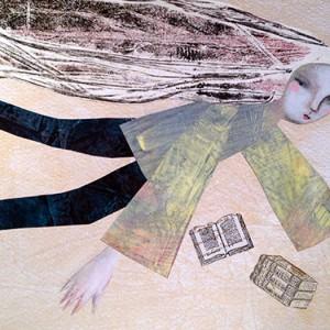 evelina oliveira_mergulho, 2014, mista s papel, 21x30,5cm
