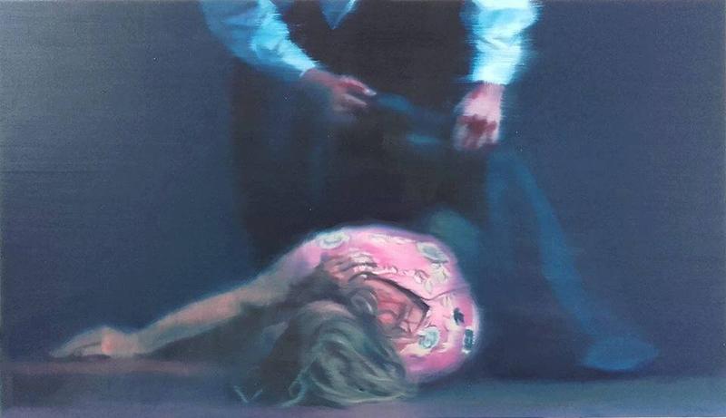 António Trindade In Limbo I, óleo sobre tela, 58x100cm, 2016