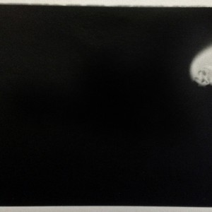 Pedro Medeiros, sem título 1997, impress autor em vintage print s oaoel baritado, 14,5x9,5cm