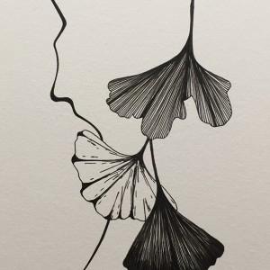 Renata Carneiro - st 4, desenho caneta s papel, 14,8x21cm