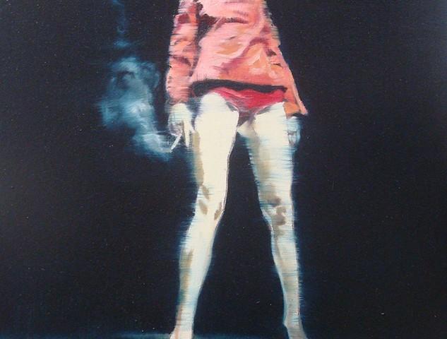 António Trindade - L'agent Provocateur #I, 50x40cm, 2018, oleo s tela