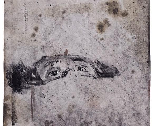 Joao Jacinto, St 17, mista s papel, 69,5x49,8 B 2018